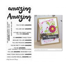 My Favorite Things Clearly Sentimental Amazing Clear Stamps CS-96
