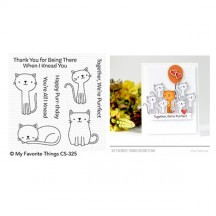 My Favorite Things Cute Cats Clear Stamps CS-325