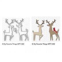 My Favorite Things Delightful Deer Die-namics Universal Cutting Dies MFT-1402
