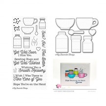 My Favorite Things Feel Better Clear Stamp & Cutting Die Set