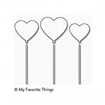 My Favorite Things Heart Balloons Die-namics Universal Cutting Dies MFT-1356