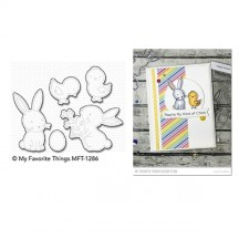 My Favorite Things Hoppy Friends Die-namics Universal Cutting Dies MFT-1286