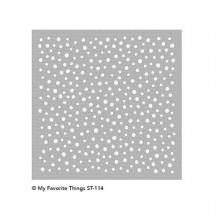 My Favorite Things MIX-ables Snow Flurry Stencil ST-114