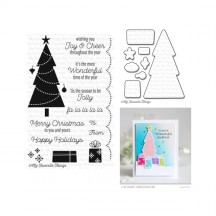 My Favorite Things Trim the Tree Christmas Clear Stamp & Die Set