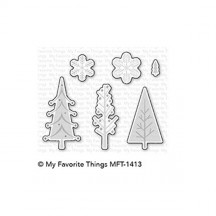 My Favorite Things Trio of Trees Die-namics Universal Cutting Dies MFT-1413