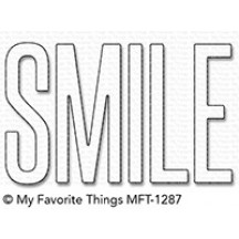 My Favorite Things Smile Die-namics Universal Cutting Dies MFT-1287