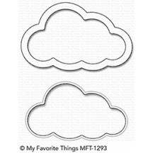 My Favorite Things Cloud Shaker Window & Frame Die-namics Universal Cutting Dies MFT-1293