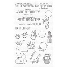My Favorite Things Birdie Brown Birthday Buds Clear Stamps BB-99