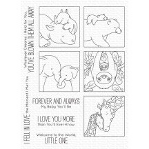 My Favorite Things Birdie Brown Picture Perfect I'll Love You Forever Clear Stamps BB-116