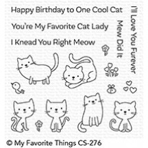 My Favorite Things Love You Furever Clear Stamps CS-276