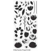 My Favorite Things Painted Prints Clear Stamp Set CS-302