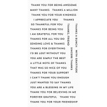 My Favorite Things Bitty Thanks & Gratitude Clear Stamps CS-414