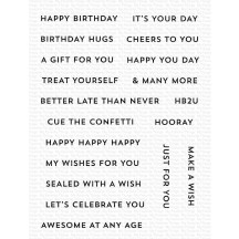 My Favorite Things Itty Bitty Birthday Clear Stamp Set CS-586