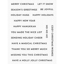 My Favorite Things Itty Bitty Holiday Christmas Clear Stamp Set CS-606