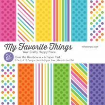 "My Favorite Things Over the Rainbow 6""x6"" Paper Pad"