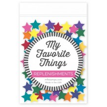 My Favorite Things Mixed Dimensional Star Confetti for Shaker Cards SUPPLY-545