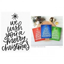 My Favorite Things We Wish You a Merry Christmas Clear Stamps CS-420