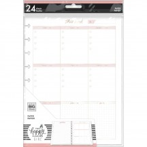 Me & My Big Ideas CLASSIC Happy Planner Minimalist Weekly Schedule Fill Paper AFCFP24-001