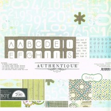 "Authentique Miracle Boy 12""x12"" Collection Kit MIR020"
