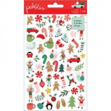 Pebbles Merry Little Christmas Mini Sticker Book 734150