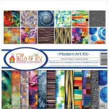 "Ella & Viv Modern Art 12""x12"" Paper Crafting Kit EAV-1000"