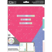 Me & My Big Ideas CLASSIC Happy Planner Dashboard Six Month Extension Kit MONT-17
