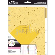 Me & My Big Ideas CLASSIC Happy Planner Sunshine Monthly 12 Month Undated Extension Pack MONT-19