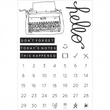 Kaisercraft My Year, My Story Clear Stamp Set CS245