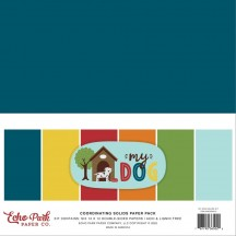 "Echo Park My Dog 12""x12"" Solids Paper Kit MD226015"