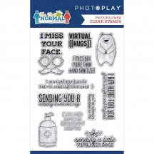 "PhotoPlay The New Normal 4""x6"" Clear Stamp Set THE2326"