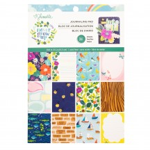 "American Crafts Shimelle Never Grow Up  6""x8"" Journaling Pad Pad 356178"