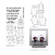 My Favorite Things Ninja-mazing Clear Stamp & Die Set