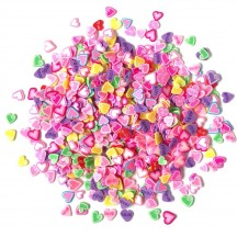 Buttons Galore & More Sprinkletz Candy Hearts Embellishment Pack NK110