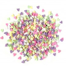Buttons Galore & More Sprinkletz Deco Hearts Embellishment Pack NK111