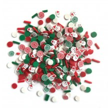 Buttons Galore & More Sprinkletz Saint Nick Christmas Embellishment Pack NK119