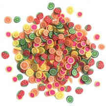 Buttons Galore & More Sprinkletz Fruit Cocktail Mixed Embellishment Pack NK122