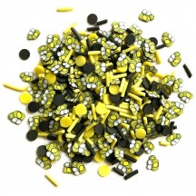Buttons Galore & More Sprinkletz Bumble Bees Mixed Embellishment Pack NK137