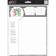 Me & My Big Ideas Create 365 CLASSIC Happy Planner Note & Graph Paper FIL-01
