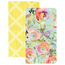Webster's Pages The Good Life 2 Pack Traveler Notebooks Trellis & Flowers NP206
