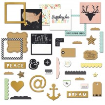 Fancy Pants Office Suite Insta Pack Die-Cut Pieces 2471