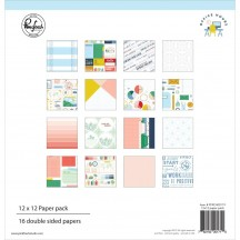 "Pinkfresh Studio Office Hours 12""x12"" Collection Kit RC400119"