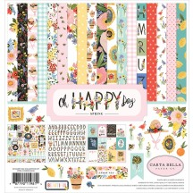 "Carta Bella Oh Happy Day Spring 12""x12"" Collection Kit OHD112016"