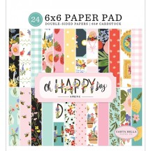"Carta Bella Oh Happy Day Spring 6""x6"" Double-Sided Paper Pad OHD112023"
