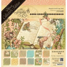 Graphic 45 Papercrafting Once Upon a Springtime Deluxe Collectors Edition 4501099