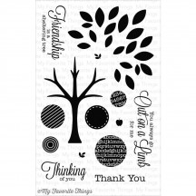 My Favorite Things LJD Out on a Limb Clear Stamps LJD-41