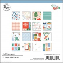 "Pinkfresh Studio Oh What Fun Christmas 6""x6"" Paper Pack PFRC700220"