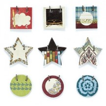 Basic Grey Small Details Decorative Stickers - Oxford
