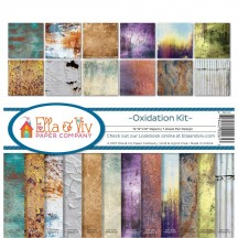 "Ella & Viv Oxidation 12""x12"" Paper Crafting Kit EAV-1101"