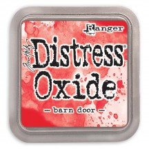 Ranger Tim Holtz Barn Door Distress Oxide Ink Pad TDO55808 red