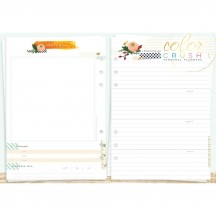 Webster's Pages Color Crush A5 Personal Planner Memory Keeping Inserts P1011